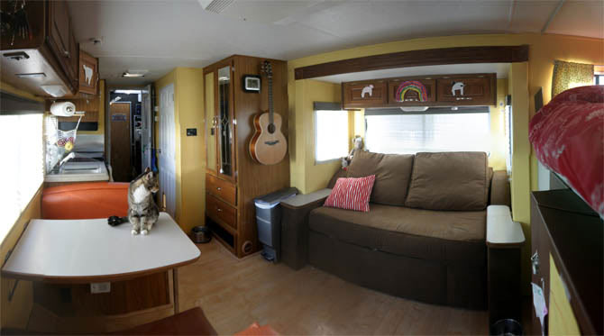 Perfect Inside Of A Nice RV My Dream Map Pinterest